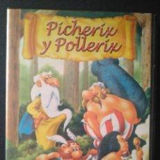 Peliculas: DVD DBUJOS ADULTOS PICHERIX Y POLLERIX. Lote 245445845