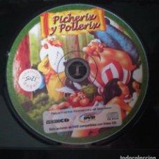 Peliculas: PICHERIX Y POLLERIX DVD ADULTOS. SOLO DISCO. Lote 245446190