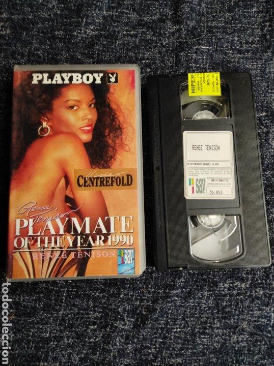 VHS PLAYMATE 1990 RENEE TENISON - EROTISMO VINTAGE AÑOS 80 (Coleccionismo para Adultos - Películas)