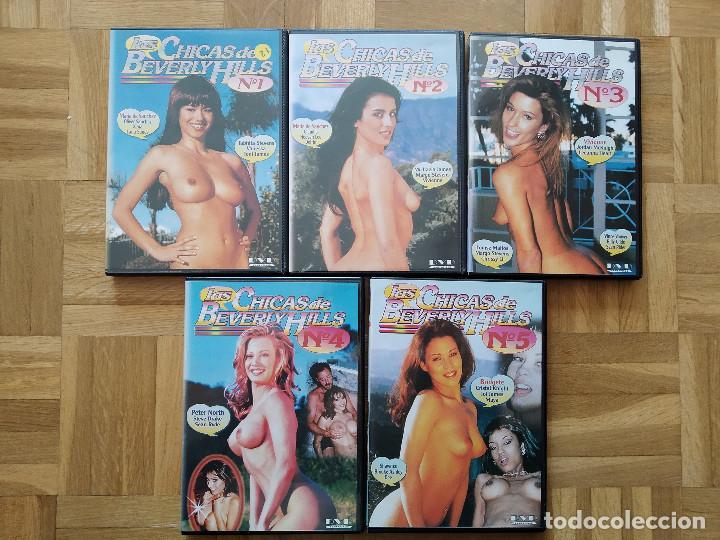 5 DVD LAS CHICAS DE BEVERLY HILLS. COLECCION COMPLETA. MARIA DE SANCHEZ. VIVIENNE. PETER NORTH. VER (Coleccionismo para Adultos - Películas)