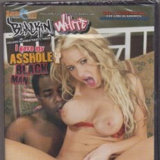 Peliculas: PELICULAS PARA ADULTOS. DVD VIDEO. I GAVE MY ASSHOLE. BLACK MAN. 4 HORAS. PRECINTADA VIDPOR-233. Lote 287876888