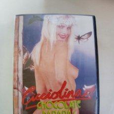 Peliculas: CICCIOLINA CHOCOLATE BANANAS - PELICULA VIDEO BETA 1990 // ILONA STALLER ANA FRAUN PORNO CULT. Lote 250151970
