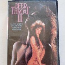 Peliculas: DEEP THROAT III - PELICULA BETAMAX ADULT VIDEO 1980S // TRACY ADAMS GARGANTA PROFUNDA CINE XPORNO. Lote 250153160