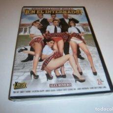 Peliculas: PACK 63 CINE ADULTO DVD DEGENERACION MORAL EN EL INTERNADO NUEVO PRECINTADO. Lote 270533028