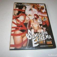 Peliculas: PACK 223 CINE ADULTO DVD SUMISION EXTREMA NUEVO PRECINTADO. Lote 294086353