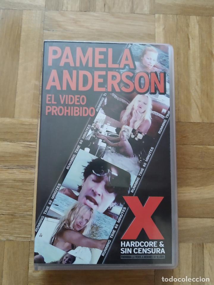 PELICULA VHS PAMELA ANDERSON EL VIDEO PROHIBIDO TOMMY LEE MOTLEY CRUE PLAYBOY VIGILANTES DE LA PLAYA (Coleccionismo para Adultos - Películas)