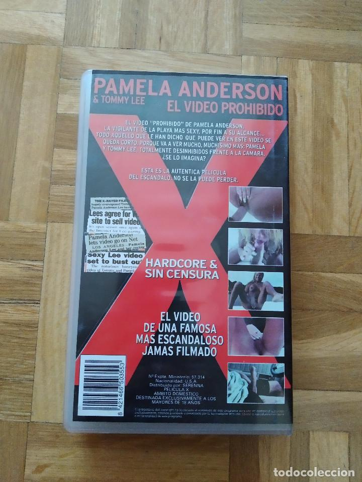 Peliculas: PELICULA VHS PAMELA ANDERSON EL VIDEO PROHIBIDO TOMMY LEE Motley Crue Playboy Vigilantes De La Playa - Foto 3 - 255394985