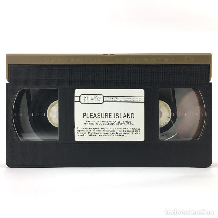 CINTA SUELTA PLEASURE ISLAND KIMBERLY CARSON KELLY NICHOLS TISH AMBROSE CHELSEA BLAKE RENEE SUMM VHS (Coleccionismo para Adultos - Películas)