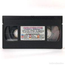 Peliculas: APOCALYPSE CLIMAX 2. TAMMI ANN ANITA BLOND NICOLETTE FAULUDI MELISSA HILL BARBARA MOLATH PRIVATE VHS. Lote 255412750
