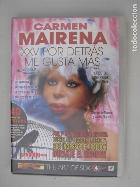 DVD CARMEN MAIRENA - XXV POR DETRAS ME GUSTA MAS - MARC PELLICER - DAVID MIRAS (Coleccionismo para Adultos - Películas)