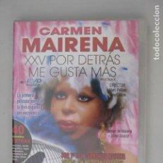 Peliculas: DVD CARMEN MAIRENA - XXV POR DETRAS ME GUSTA MAS - MARC PELLICER - DAVID MIRAS. Lote 255542650