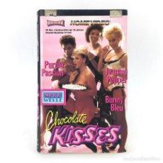 Peliculas: CHOCOLATE KISSES. HEATHER WAYNE JEANNIE PEPPER PURPLE PASSION BUNNY BLEU JENNIFER NOXT VIDEORAMA VHS. Lote 262151375