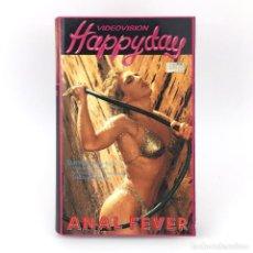 Peliculas: ANAL FEVER HOLLY RYDER MELANIE MOORE BRITT MORGAN TOM BYRON BUCK ADAMS XXX VIDEOVISION HAPPY DAY VHS. Lote 262231930