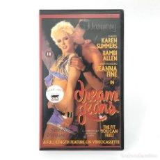 Peliculas: DREAM JEANS / SUEÑO VAQUERO. KAREN SUMMER BAMBI ALLEN JEANNA FINE MIKKI DAVIDSON DREA 1987 PORNO VHS. Lote 262492200