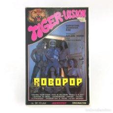 Peliculas: ROBOPOP GOLDIE HORN SVEN GOLDBERG CHRISTINE JENNIFER KIM TIGER-VISION 90 MINUTOS PORNO VINTAGE X VHS. Lote 262492695