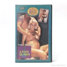 Peliculas: A PUNTO DE PARIR POPPIN´MAMAS FALLON JAZZ SUNSET THOMAS ZACK BUSTER EMBARAZADAS LORETTA STERLING VHS. Lote 262492770