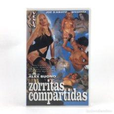 Peliculas: ZORRITAS COMPARTIDAS TRUFFA IN RIVIERA BETTY ANDERSON RAFFAELA FANNY SONIA RUSSO JOE D´AMATO XXX VHS. Lote 262492960