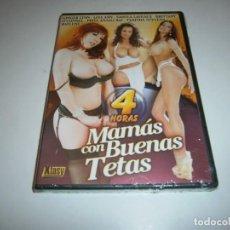 Filmes: PACK 68 CINE ADULTO DVD MAMAS CON BUENAS TETAS 4 HORAS NUEVO PRECINTADO. Lote 263709140