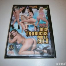 Peliculas: PACK 8 CINE ADULTO DVD DOS TRABUCOS POR EL CULO NUEVO PRECINTADO. Lote 294085998