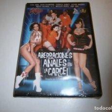 Filmes: PACK 9 CINE ADULTO DVD ABERRACIONES ANALES EN LA CARCEL LISA ANN NUEVO PRECINTADO. Lote 265725484