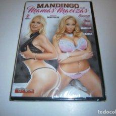 Filmes: PACK 28 CINE ADULTO DVD MANDINGO Y LAS MAMAS MACIZAS NUEVO PRECINTADO. Lote 265741729