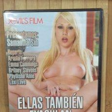 Filmes: ELLAS TAMBIÉN EYACULAN DVD - PRECINTADO -. Lote 268412489