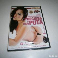 Filmes: PACK 11 CINE ADULTO DVD PRECIOSA Y MUY PUTA KRISTINA ROSE 3 HORAS 40 MIN NUEVO PRECINTADO. Lote 268842379