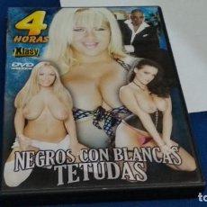 Film: DVD EROTICO X SOLO PARA ADULTOS ( NEGROS CON BLANCAS TETUDAS ) EDITA XTASY. Lote 268973954