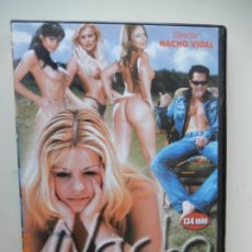 Film: NACHO LATIN SYCHO - NACHO VIDAL - DVD PORNO SOLO ADULTOS. Lote 269085423