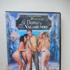 Film: ROCCO LA DAMA Y EL VAGAMUNDO - ROCCO SIFFREDI - DVD PORNO SOLO ADULTOS. Lote 269143058