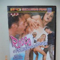 Film: ROCCO , EL FOLLADOR DE NIÑATAS - ROCCO SIFFREDI , - SIMONE , NATALI - DVD PORNO SOLO ADULTOS. Lote 269214938