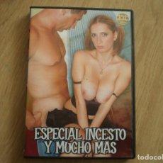 Peliculas: DVD PORNO. ESPECIAL INCESTO Y MUCHO MAS. ORIGINAL. BUENA CONSERVACION. Lote 269358898