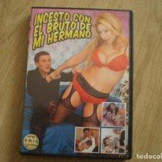 Peliculas: DVD PORNO. INCESTO CON EL BRUTO DE MI HERMANO. ORIGINAL. BUENA CONSERVACION. Lote 269358928