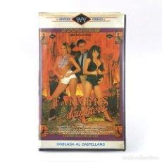 Peliculas: FARMER´S DAUGHTER CAREENA COLLINS KRISTA LANE CANDIE EVANS BUFFY DAVIS LILI MARLENE JE TAIME XXX VHS. Lote 269985273