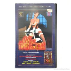 Peliculas: TWINS ON FIRE MILLY D´ABBRACCIO ROSSANA DOLL CRISTEL TAO GINA COLANY KRISTINA SODERSKY JUDITH OS VHS. Lote 269985343