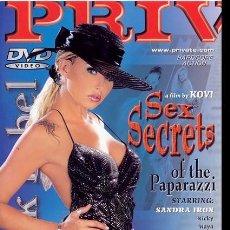 Peliculas: PRIVATE BLACK LABEL 28 SEX SECRETS OF PAPARAZZI MICHELLE WILD DVD COMO NUEVO PORN MOVIE. Lote 270206183