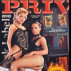 Peliculas: PRIVATE BLACK LABEL 33 AMSTERDAM SEX GAMES DRU BERRYMORE BOBBI EDEN DVD COMO NUEVO PORN MOVIE. Lote 270207328