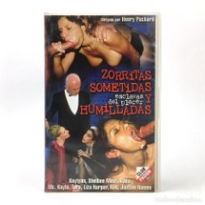 Peliculas: ZORRITAS SOMETIDAS ALANA EVANS LIZA HARPER KAYLYNN MCKAYLA MATTHEWS SHELBEE MYNE X HENRI PACHARD VHS. Lote 270410928