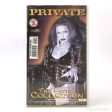 Peliculas: PRIVATE THE FETISH COLLECTION MISSY SILVIA SAINT TANIA RUSSOF LAURA TURNER IVY CRYSTAL BRITTANIA VHS. Lote 270520978