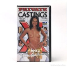 Peliculas: PRIVATE CASTING X 24 / ALEXA CRISTINA BELLA BETTINA ISABELLE DANTON HENRIETTA JANET BRENDA LOGAN VHS. Lote 270533908