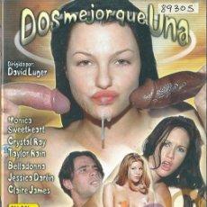 Peliculas: DOS MEJOR QUE UNA BELLADONNA MONICA SWEETHEART CRYSTAL RAY TAYLOR RAIN JESSICA DARLIN CLAIRE XXX DVD. Lote 270536098