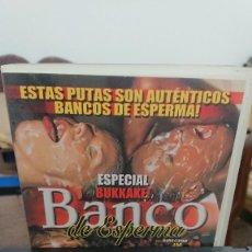 Peliculas: BANCO DE ESPERMA - VHS - JM - TRINITI MAX , MOCHA - IFG. Lote 270577648