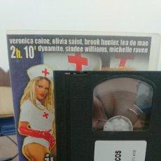 Peliculas: JUGANDO A MEDICOS - VHS - THOMAS ZUPKO - VERONICA CAINE , OLIVIA SAINT - ELEGANT ANGEL. Lote 270586513