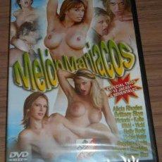 Peliculas: MELÓN MANIACOS DVD CINE X PARA ADULTOS. Lote 276453578