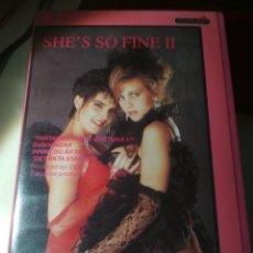 Filmes: SHE S SO FINE 2..VHS. NINA HARTLEY. Lote 276913948