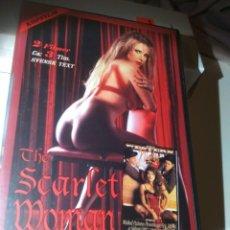 Peliculas: THE SCARLET WOMAN +WESTERN NIGHTS. VHS. Lote 280123138