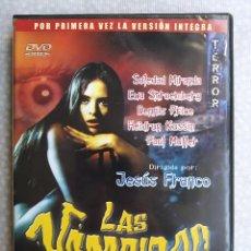 Peliculas: PELICULA DVD LAS VAMPIRAS VAMPYROS LESBOS. JESUS FRANCO. SOLEDAD MIRANDA PAUL MULLER EWA STROEMBERG. Lote 285534063