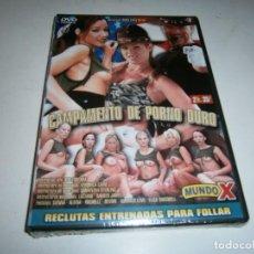 Filmes: PACK 48 CINE ADULTO DVD CAMPAMENTO DE PORNO DURO NUEVO PRECINTADO. Lote 287568353
