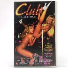 Peliculas: CLUB DE ALTERNE STRIPTEASE 2 SHAYLA LAVEAUX HEIDI VUN HUNTER MONIQUE AMORE NICOLLINA FOXX BARBIE VHS. Lote 287898433
