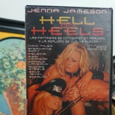 Peliculas: HELL ON HEELS - VHS - BRAD ARMSTONG - NIKKI TYLER , STEPHANIE SWIFT - ELEPHANT CHANNEL. Lote 293799543